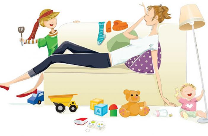 E quando a mãe fica doente? | maternidade