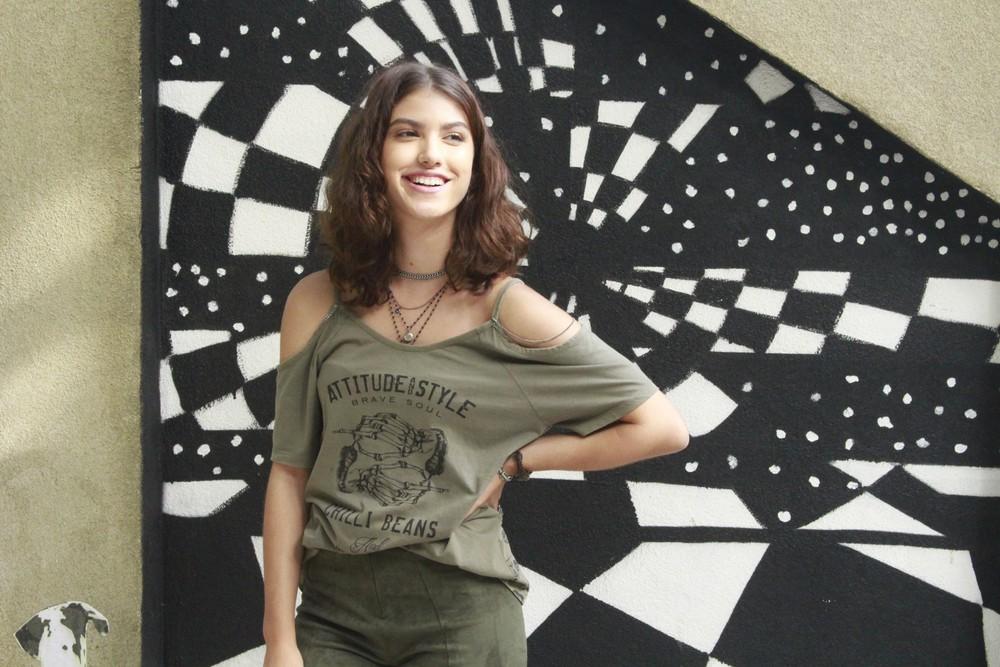 Giovanna Grigio será Samantha em 'Malhação - Viva a Diferença' (Foto: Monique Vasconcelos/Gshow)