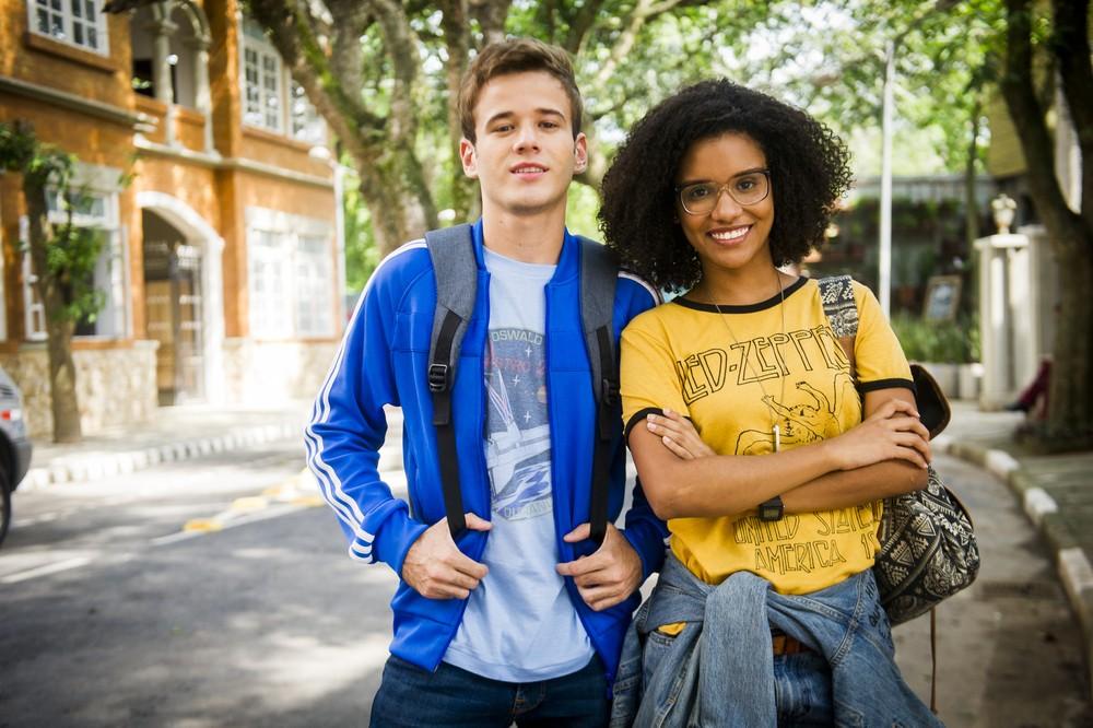 Ellen irá conhecer Jota, um programador nerd, que irá aprender muito com ela (Foto: TV Globo/Raquel Cunha)