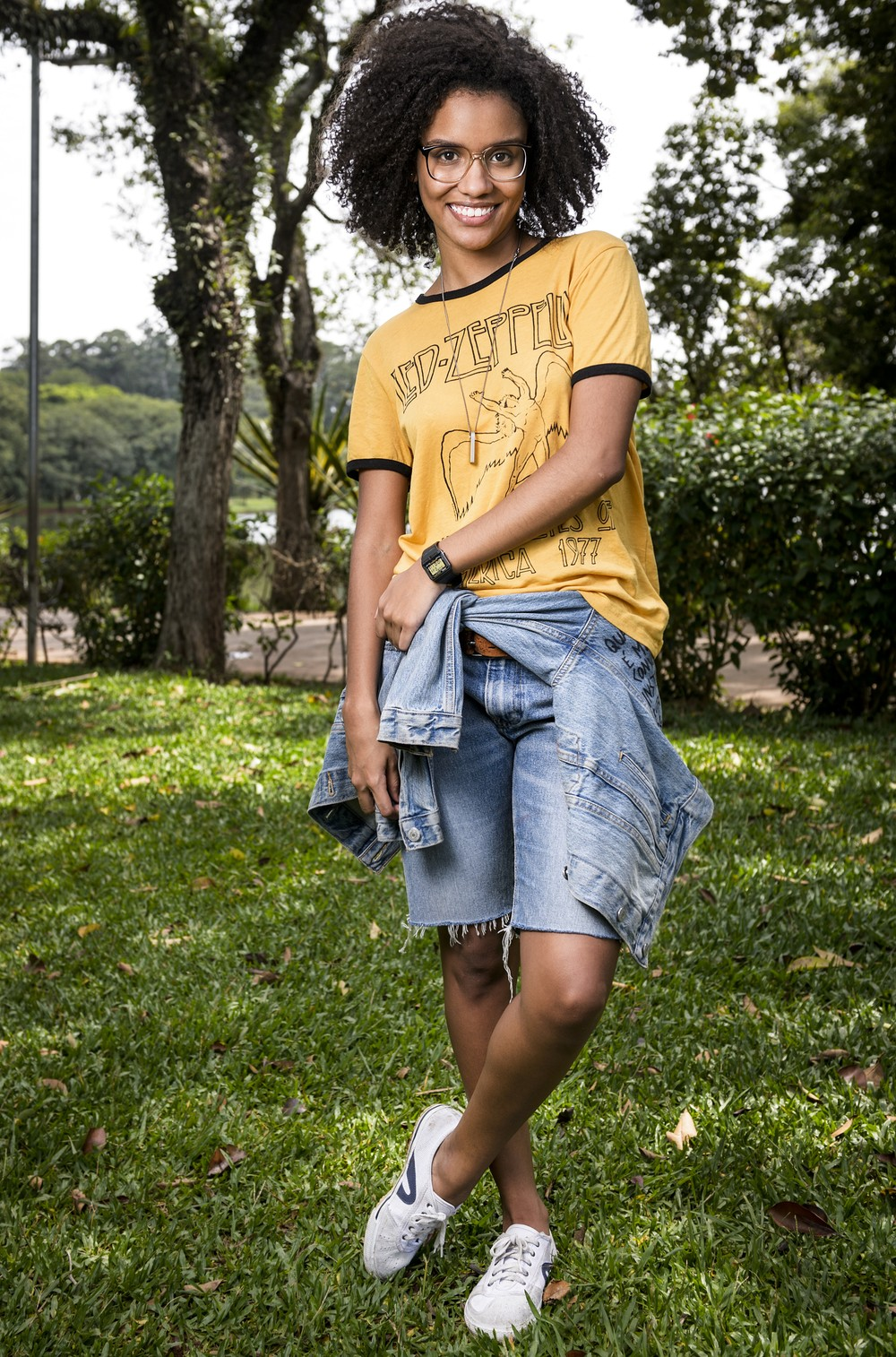 Heslaine Vieira é Ellen em 'Malhação - Viva a Diferença' (Foto: TV Globo/Ramón Vasconcelos)