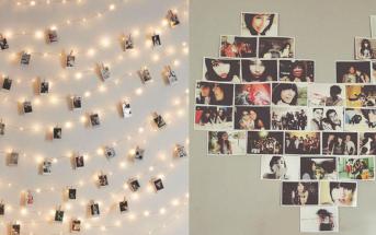 Quarto Teen Feminino: como organizar um mural de fotos | Adolescência