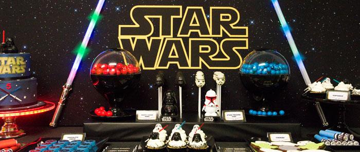 festa de 15 anos star wars inspiração