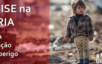 Como ajudar as crianças da Síria
