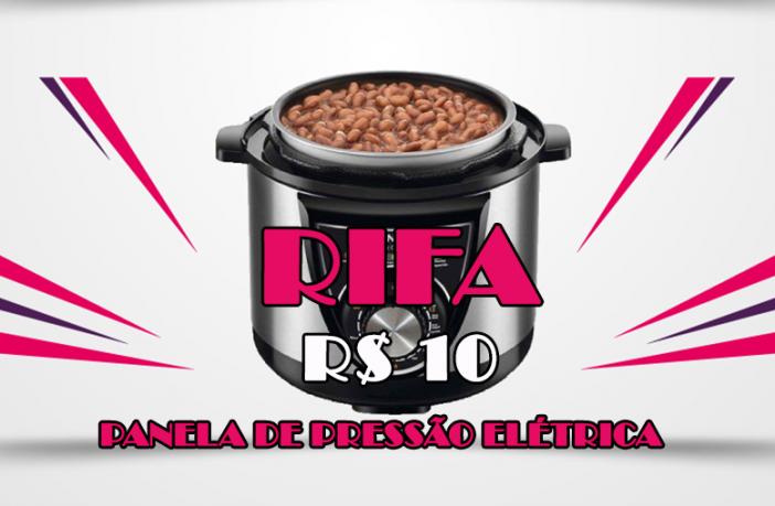 PANELA DE PRESSÃO ELÉTRICA RIFA