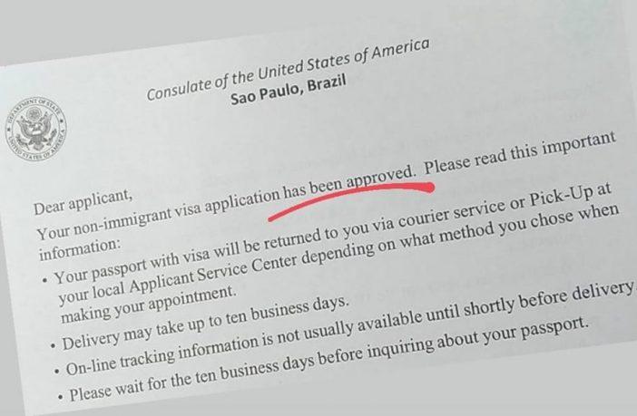 Tirando passaporte e visto americano de adolescentes 1