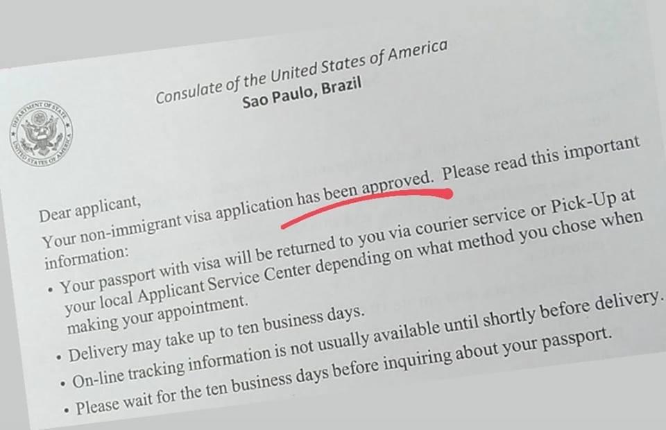Tirando passaporte e visto americano de adolescentes 2